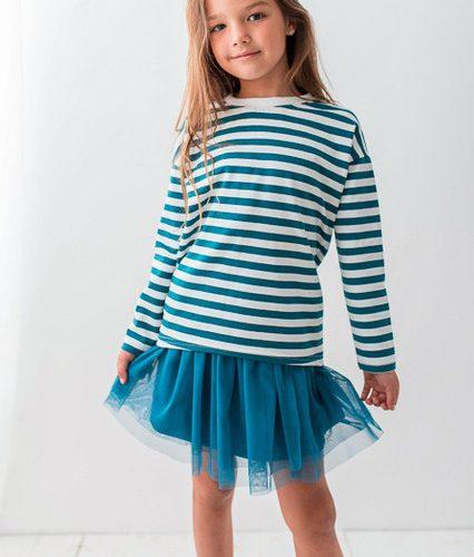 Dziewczynki lubią ładne bluzki